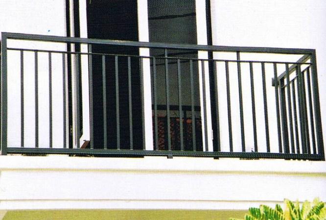 Ralling Balkon Besi Minimalis 07 Spesialis Pagar Minimalis